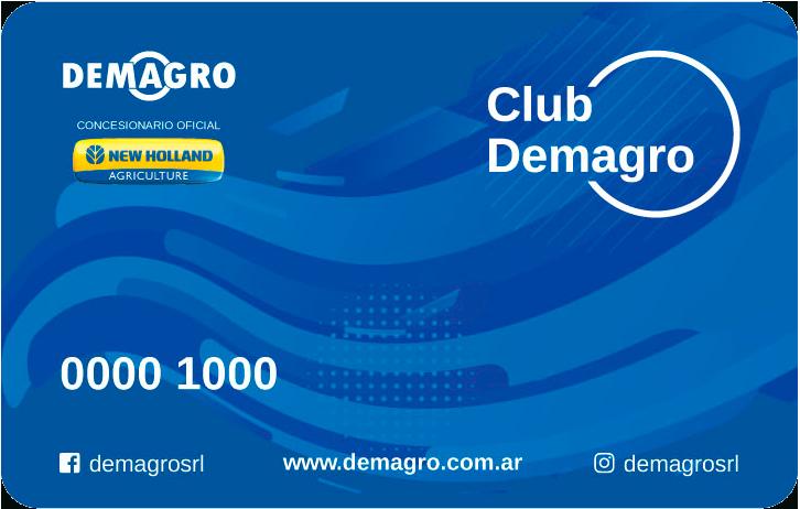 Tarjeta Club Demagro